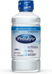 Pedialyte Electrolyte Solution, Hydration Drink, Unflavored, 1 Liter, 8 Count $39.88 (REG $63.92)