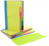 Redi-Tag Divider Sticky Notes, Tabbed Self-Stick Lined Note Pad$5.67 (REG $11.48)