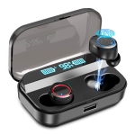 Wireless Earbuds,Kissral Bluetooth 5.0 Earbuds with 3000mAh Charging Case $39.55 (REG $129.99)