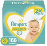 Pampers Swaddlers Baby Diapers Size 3 $36.08 (REG $49.99)