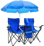 Folding Fishing Chair with Removable Sun Umbrella $59.10 (80% Off using COUPON)