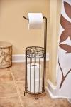 iDesign Twigz Bath, Free Standing Toilet Paper Roll Holder $13.33 (REG $34.96)