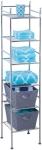 Honey-Can-Do BTH-03484 6 Tier Metal Tower Bathroom Shelf, $15.00 (REG $52.99)