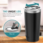 Jura Outdoor Tumbler 20 oz Stainless Steel Vacuum Insulated $8.99 (REG $27.99)