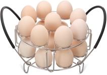 Aozita Multipurpose Stackable Egg Steamer Rack Trivet 18 Egg Cooking Rack $9.99 (REG $25.99)