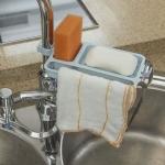 ULBTER Dishcloth Holder Hanger Kitchen Sink Dishcloth Rack Hand Towel Holder$6.88 (REG $12.99)