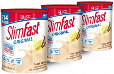 SlimFast Original French Vanilla Meal Replacement Shake Mix $20.64 (REG $42.17)