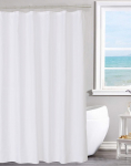 N&Y HOME Fabric Shower Curtain Liner Solid White with Magnets, Hotel Quality$7.83 (REG $16.99)