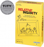 Relative Insanity Party Game About Crazy Relatives$9.12 (REG $20.99)