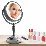 Lighted Makeup Mirror, 7.5 Inch Makeup Mirror with Magnification $47.99 (REG $99.99)