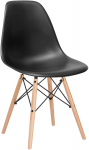 Poly and Bark Modern Mid-Century Side Chair with Natural Wood Legs$47.45 (REG $122.25)