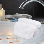 LIGHTNING DEAL!!! Bathtub Spa Pillow with 4D Air Mesh Technology and 7 Suction Cups$16.98 (REG $29.99)