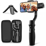 LIMITED TIME DEAL!!! 3-Axis Gimbal Stabilizer for iPhone X XR XS Smartphone $75.65 (REG $179.99)