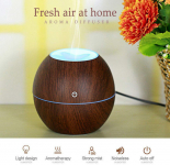 Lemoning US LED Ultrasonic Aroma Humidifier Essential Oil Diffuser Aromatherapy Purifier $12.79 (REG $127.90)