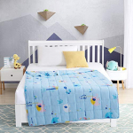 EXQ Home Weighted Blanket 5 lbs for Kids Blue Elephant Heavy Blanket $29.99 (REG $47.99)