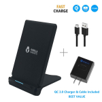 Fast Wireless Charger (with QC 3.0 Adapter) $17.99 (REG $31.99)