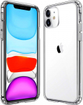 Mkeke Compatible w/ iPhone 11 Case, Clear iPhone 11 Cases Cover for iPhone 11 $6.79 (REG $18.99)