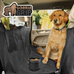 LIGHTNING DEAL!!! Premium Durable Slip-Resistant Waterproof Dog Car Seat Protector Cover $8.49 (REG $16.99)