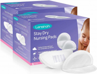Lansinoh Stay Dry Disposable Nursing Pads for Breastfeeding, 200 count $17.68 (REG $29.99)