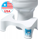Squatty Potty The Original Bathroom Toilet Stool, 7″ height, White, 7 Inch $17.49 (REG $24.99)