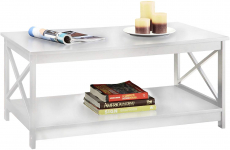 Convenience Concepts Oxford Coffee Table, White $85.78 (REG $162.75)
