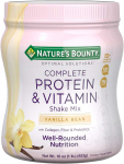 Nature's Bounty Optimal Solutions Protein Powder and Vitamin Supplement $8.49 (REG $19.79)