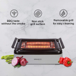 Simple Living Advanced Indoor Smokeless BBQ Grill | Powered With Infrared Technology $110.49 (REG $299.99)