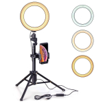 Eocean 8 inches Selfie Ring Light with Tripod Ring Light with Stand $16.31 (REG $52.99)