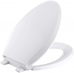 KOHLER K-4636-0 Cachet Elongated White Toilet Seat $28.03 (REG $58.35)