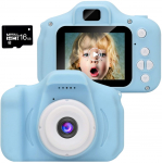 WUBUMIM Kids Digital Video Camera Best Birthday Gifts for Girls Age 3-7 $19.99 (REG $45.99)