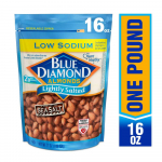 Blue Diamond Almonds, Lightly Salted, Low Sodium, 16 Ounce $5.99 (REG $9.62)