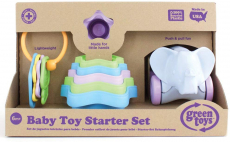 LIGHTNING DEAL!!! Green Toys Baby Toy Starter Set (First Keys, Stacking Cups, Elephant) $13.64 (REG $29.99)