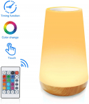 Touch Lamp, YSD Remote Control Bedside Lamp with 13 Colors$17.99 (REG $39.99)