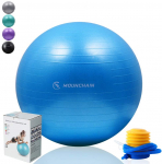 Mounchain Yoga Ball(Multiple Sizes and Colours) for Fitness$10.59 (REG $59.99)