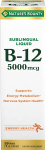 Nature's Bounty B-12 5000 mcg Sublingual Liquid Energy Health $6.96 (REG $16.99)
