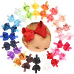Baby Girls Headbands Grosgrain Ribbon 4.5″ $9.86 (REG $25.99)