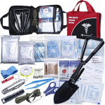 First Aid Kit Home Comprehensive 25 Items 131 Piece Soft Case Bag $19.95 (REG $49.99)