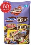 SNICKERS, M&M'S & TWIX Fun Size Chocolate Candy Variety Mix $9.94 (REG $19.95)