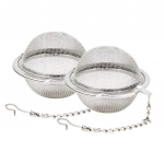 Fu Store 2pcs Stainless Steel Mesh Tea Ball 2.1 Inch Tea Infuser Strainers $5.99 (REG $15.99)