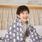 """ZonLi Kids Weighted Blanket(7 lbs for Kids, 41""""x60"""") $29.90 (REG $54.90)"""