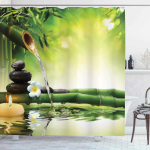 Ambesonne Spa Shower Curtain$14.95 (REG $39.99)