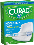 Curad CUR47148NRB Medium Non-Stick Pads, 10 Count, Pack of 3 $2.33 (REG $13.47)