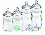 NUK Simply Natural Baby Bottle Newborn, 5 Ounce & 9 Ounce (Gift Set) $17.59 (REG $27.99)