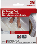 3M Safety 7640 Safety-Walk Tub and Shower Tread Tape, 1-Inch by 180-Inch, Clear $7.98 (REG $13.49)