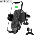 LIGHTNING DEAL!!! ZOOAUX Fast Wireless Car Charger Vent Mount $23.59 (REG $59.99)