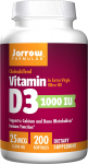 Jarrow Formulas Vitamin D3 Calcium and Bone Metabolism $7.16 (REG $13.95)