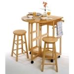 Winsome Trading, Inc. 89332 Burnett Kitchen, Round, Natural $108.00 (REG $205.20)