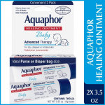 Aquaphor Baby Healing Ointment To-Go Pack – Advanced Therapy $3.82 (REG $8.17)