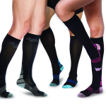 AIvada Compression Socks for Men & Women with Foot Massager Pad $14.99 (REG $38.95)