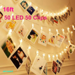 LED String Fairy Light, Party Decoration for Photo Picture Hanging display (50% Off)